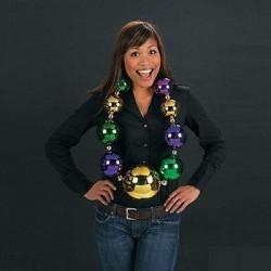 giant mardi gras beads