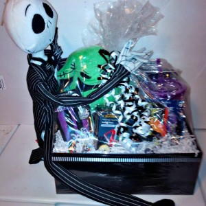 nightmare before christmas gift basket